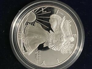 1999-P-Proof-1-American-Silver-Eagle-Dollar-with-box-and-coa