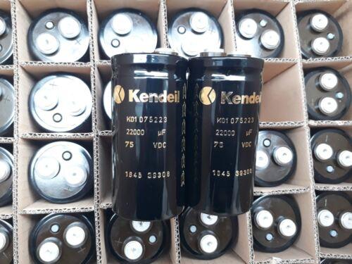 2pcs NEW KENDEIL K01 22000UF 75V CAP AUDIO QUAD303 QUAD 405 UPGRADE NAIM!63V rep