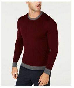 Tasso-Elba-Men-039-s-Merino-Wool-Blend-Sweater-Sz-MEDIUM
