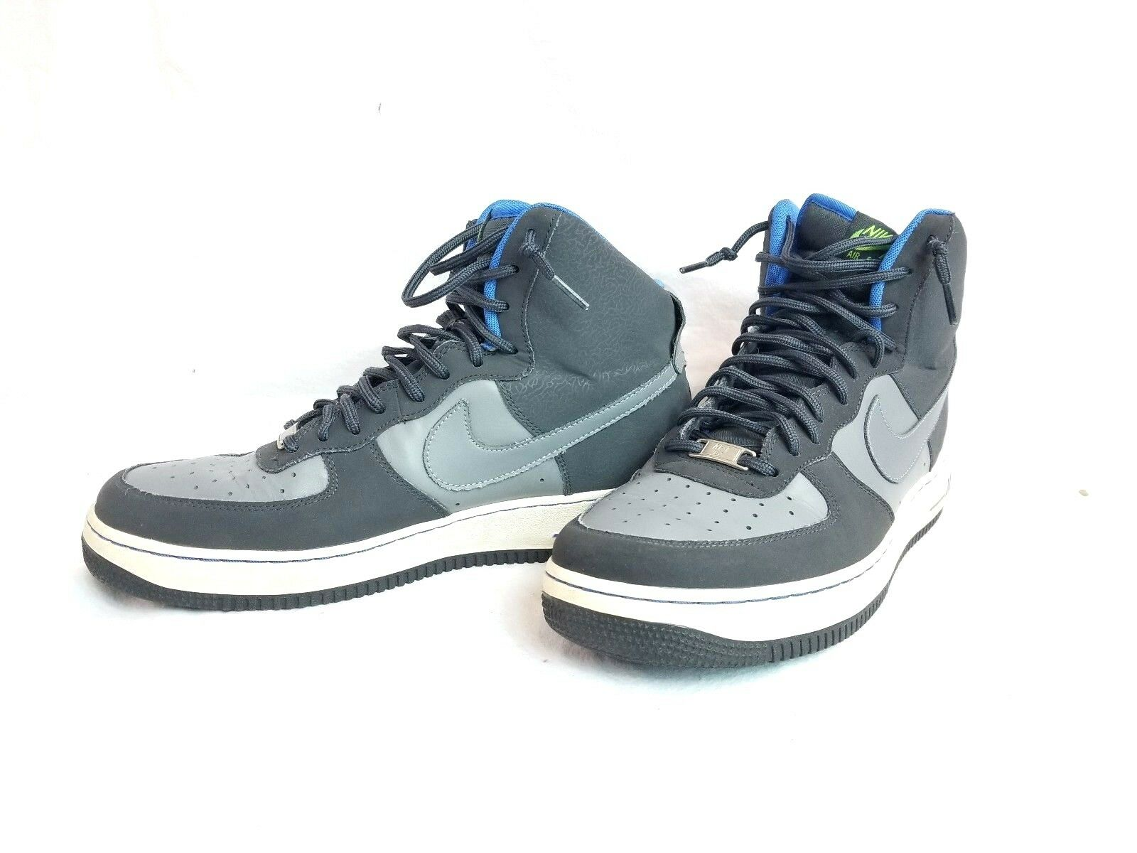 Nike Men's Air Force 1 Hi-Tops in Anthracite/ Cool Grey 315121-016 Size 11 EUC