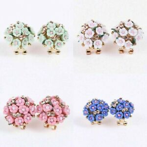 1-Pair-Women-Flower-Crystal-Rhinestone-Ear-Stud-Elegant-Fashion-Earrings-Jewelry