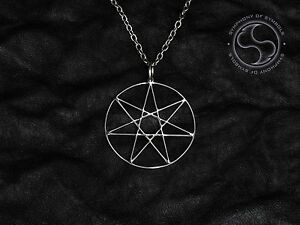 Heptagram symbol elven star necklace fairy star sign septagram logo image is loading heptagram symbol elven star necklace fairy star sign aloadofball Choice Image