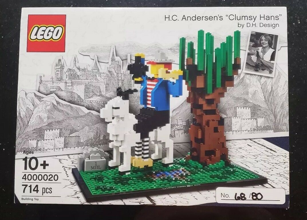 LEGO Inside Tour Exclusive Set 2017 H. C. Anderson Clumsy Hans Sealed