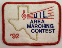 Uil Area Marching Contest 1992 Uniform Patch