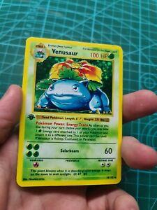 Handmade proxy VENUSAUR BISAFLOR Pokemon Card in Holo