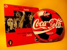 Cardsleeve Single CD Coca Cola Official Song of Belgium Football Team World Cup