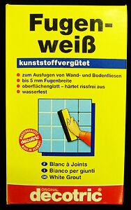 G Fugenweiss Wasserfest Zum Ausfugen Von Wand Und Bodenfliesen - Ausfugen von bodenfliesen