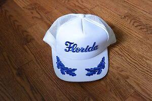 Vintage-Florida-Trucker-Cap-Hat-Snapback-with-Leaves