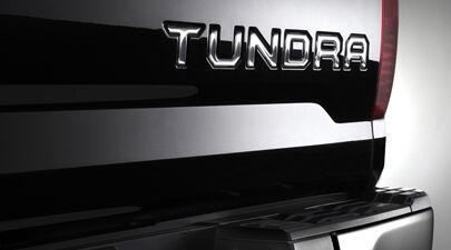 GENUINE TOYOTA TUNDRA 2017 MODELS TAILGATE INSERT BADGE CHROME PT9483415010
