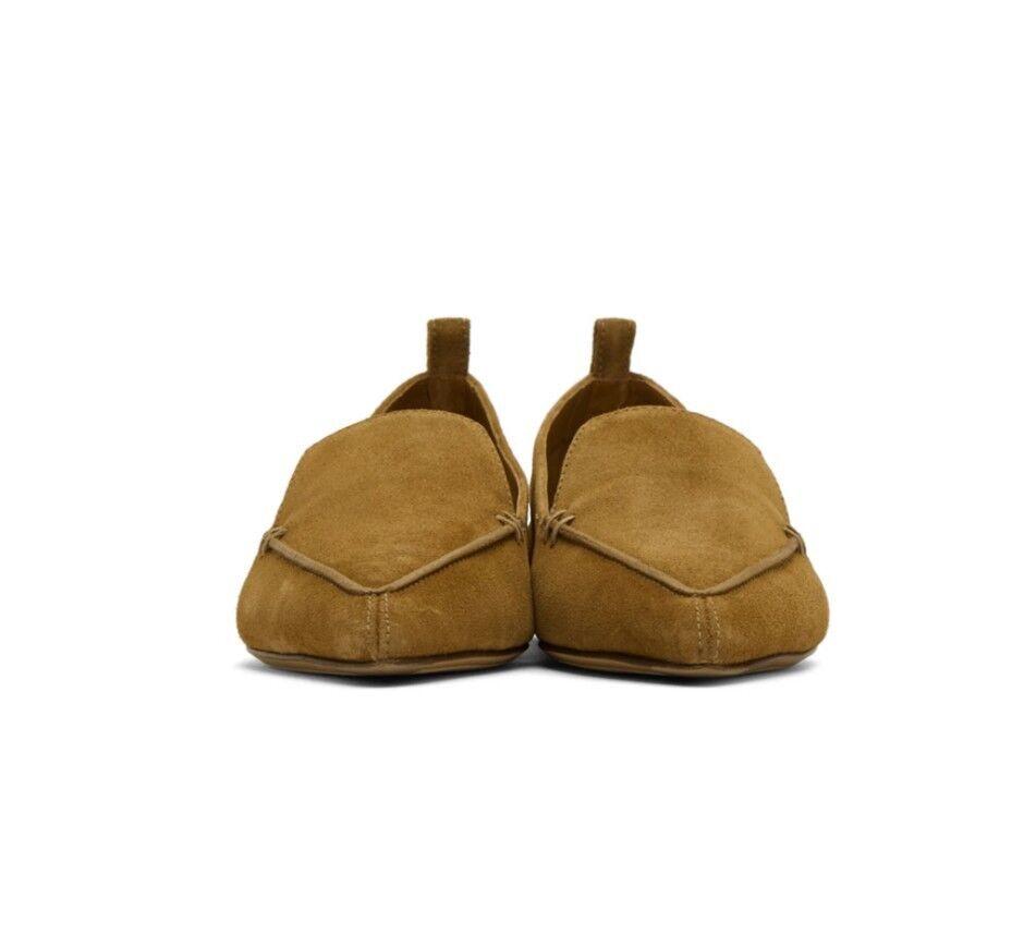connotazione di lusso low-key NEW Nicholas kirkwood Marrone Marrone Marrone Suede Loafers Dimensione 41  720 CAD  benvenuto per ordinare