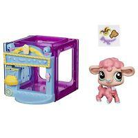Littlest Pet Shop Mini Style Set With 4024 Wanda Woolsey Lamb Figure (b2895)
