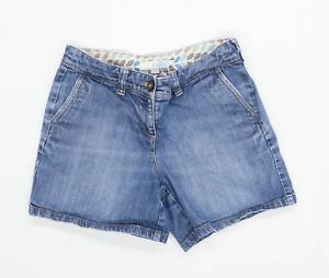 Womens-Boden-Blue-Denim-Shorts-Size-10-L2
