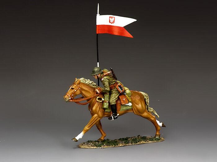King and Country Polish Flagbearer FOB159