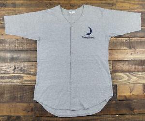 Details about Rare Vintage 90s DREAMWORKS SKG Gray Baseball Jersey Size XL USA Made