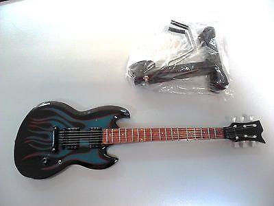 music legends collection metallica james hetfield grynch miniature guitar ebay. Black Bedroom Furniture Sets. Home Design Ideas