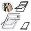 VELUX-Dachfenster-66x118-FK06-Kunststoff-3-fach-Verglasung-EDZ-ENERGIE-sparende miniatura 1