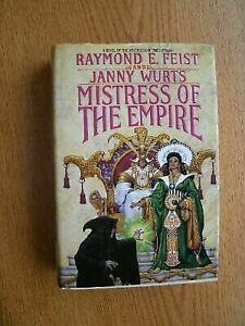 Janny-Wurts-Raymond-E-Feist-Mistress-of-the-Empire-US-HCDJ-1st-1st-NF