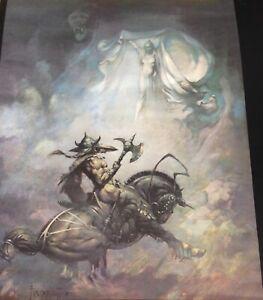FREE POSTAGE Frank Frazetta Fantasy Art Print