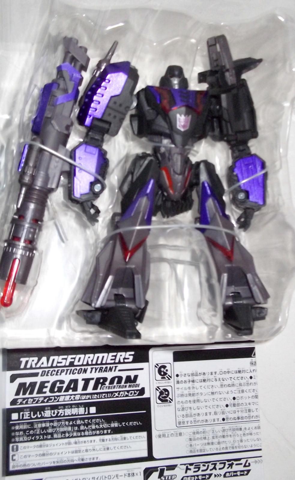 ✰ 2011 Tokyo Juguete Darkside Megatron Totalmente Nuevo + Show  sueltas  Transformers Unidos