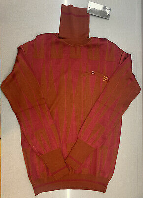 Rapha Milano-Roma Merino Wool Roll Neck Base Layer Large Brand New With Tag