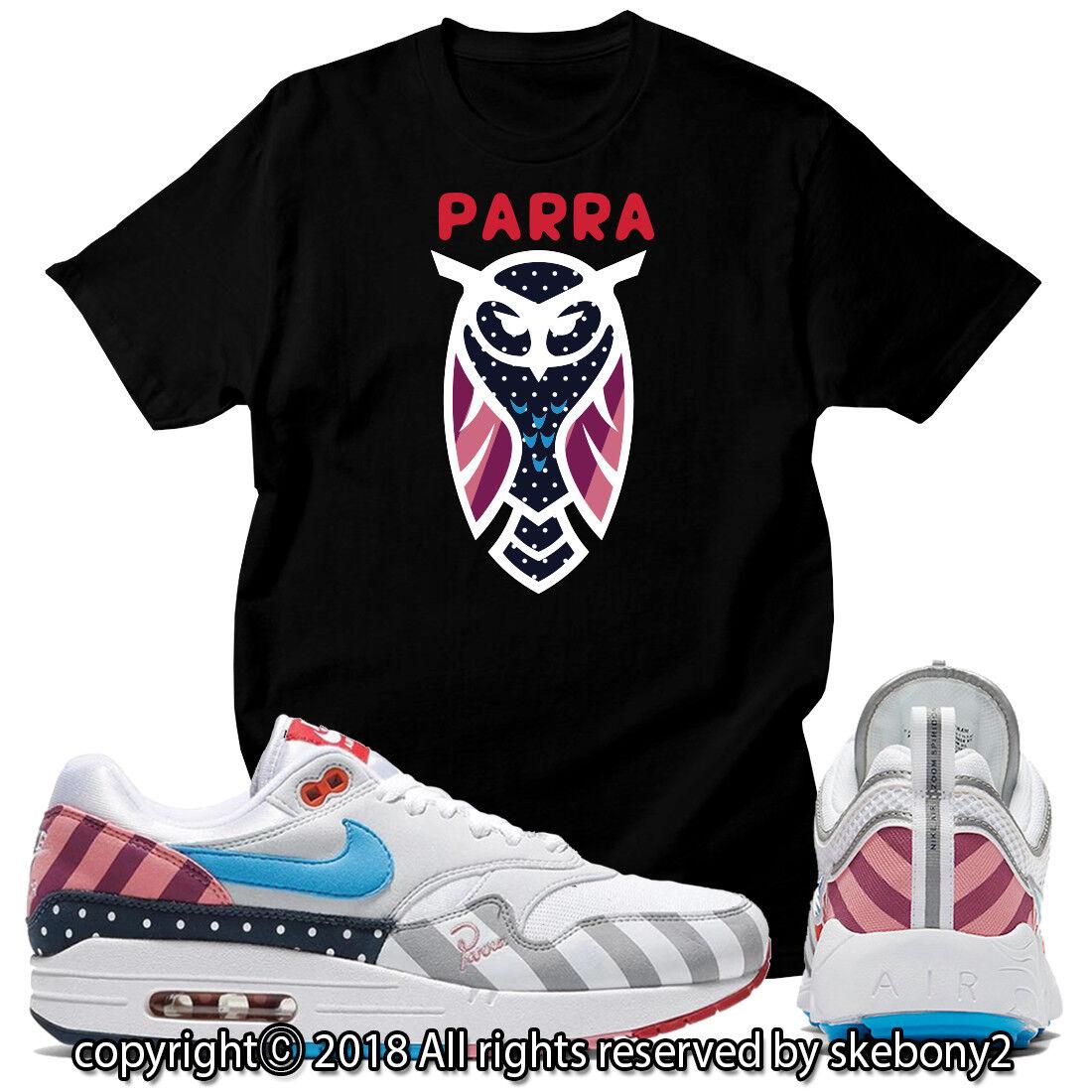 brand new 554a3 fbfee NYTT TÄVLAD x T-SHIRT som matchar Parra JD x NYTT Nike Air Max 1 och  Spiridon JD 1-19-5