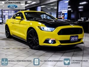 2016 Ford Mustang EcoBoost Premium|ANDROID|CARPLAY|HTD & CLD SEATS