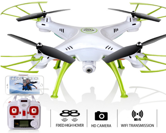 HD Drone Remote Control Camera RC Helicopter Quadcopter Shock Resistant Toy