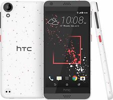 "HTC Desire 530, 5"" Screen, White, 16GB, 8MP/5MP Camera, 4G LTE GSM Unlocked"