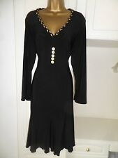 """SMART UNLINED DRESS BY SATSUMA IN VG CON SIZE UK 18 BUST 46"""""""