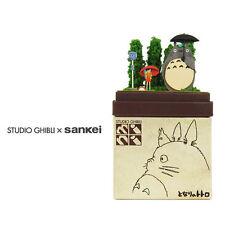 "Studio Ghibli mini Paper Craft Kit My Neighbor Totoro 03 ""Totoro and Bus stop"""