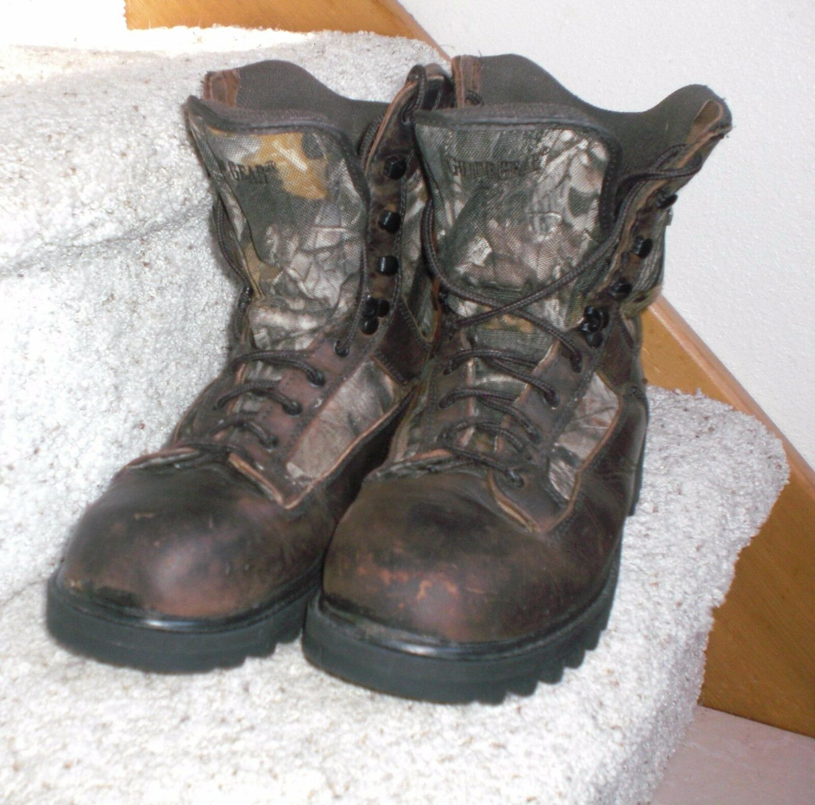 MEN'S SZ 8.5 M Guide Gear Leather Insulated 400 gram Hunting Sport boots