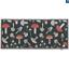 thumbnail 6 - Hug Rug Anti Viral Hygenic Bacteria Linen Light Grey Mushroom Daises Door Mat