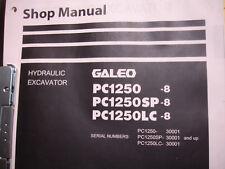 Komatsu Hydraulic Excavator PC1250-8 PC1250SP-8 & LC GALEO  SHOP Service Manual