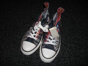 Uk Rojo Tops Azul All Hi Unisex Tela Zapatillas 7 Superman Converse Nuevos Star 1qRwZPPS