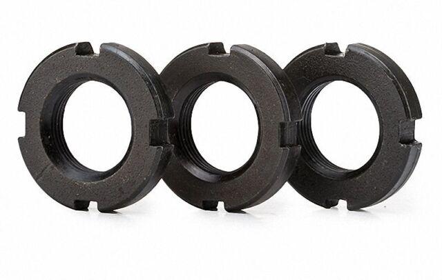 M80 x 1.5mm Round Locknut Slotted Nut Retaining Castle Nut Select M55