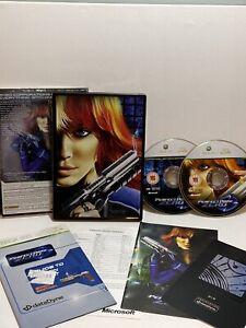Perfect-DARK-ZERO-LIMITED-COLLECTOR-039-S-STEEL-BOOK-EDIZIONE-Microsoft-Xbox-360