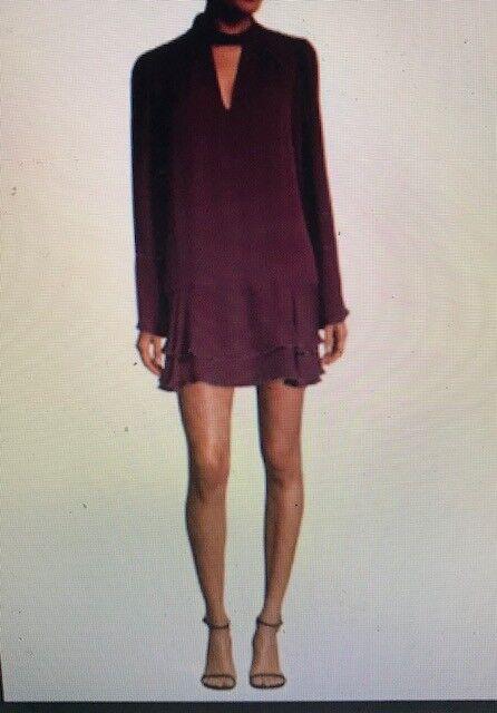 Neuf avec étiquettes Parker soie Teresa tour de cou robe, Größe S, Retail  388