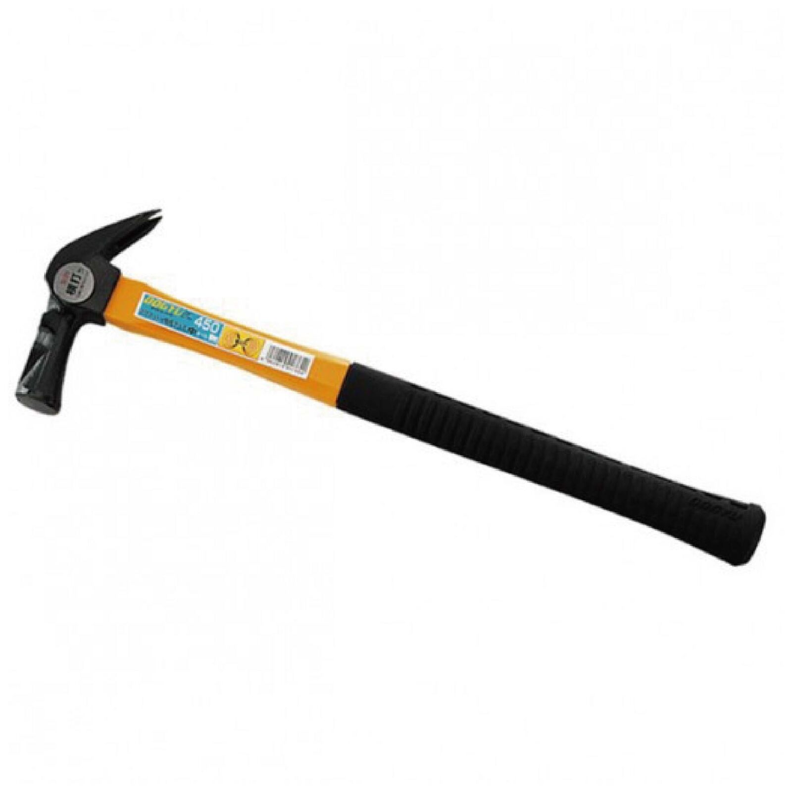 DOGYU Fiberglass Handle KARIWAKU Hammer 450mm W Magnet Japan