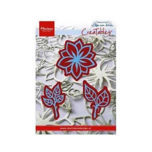 Marianne Design Creatables Dies-Fleurs /& Feuilles LR0156