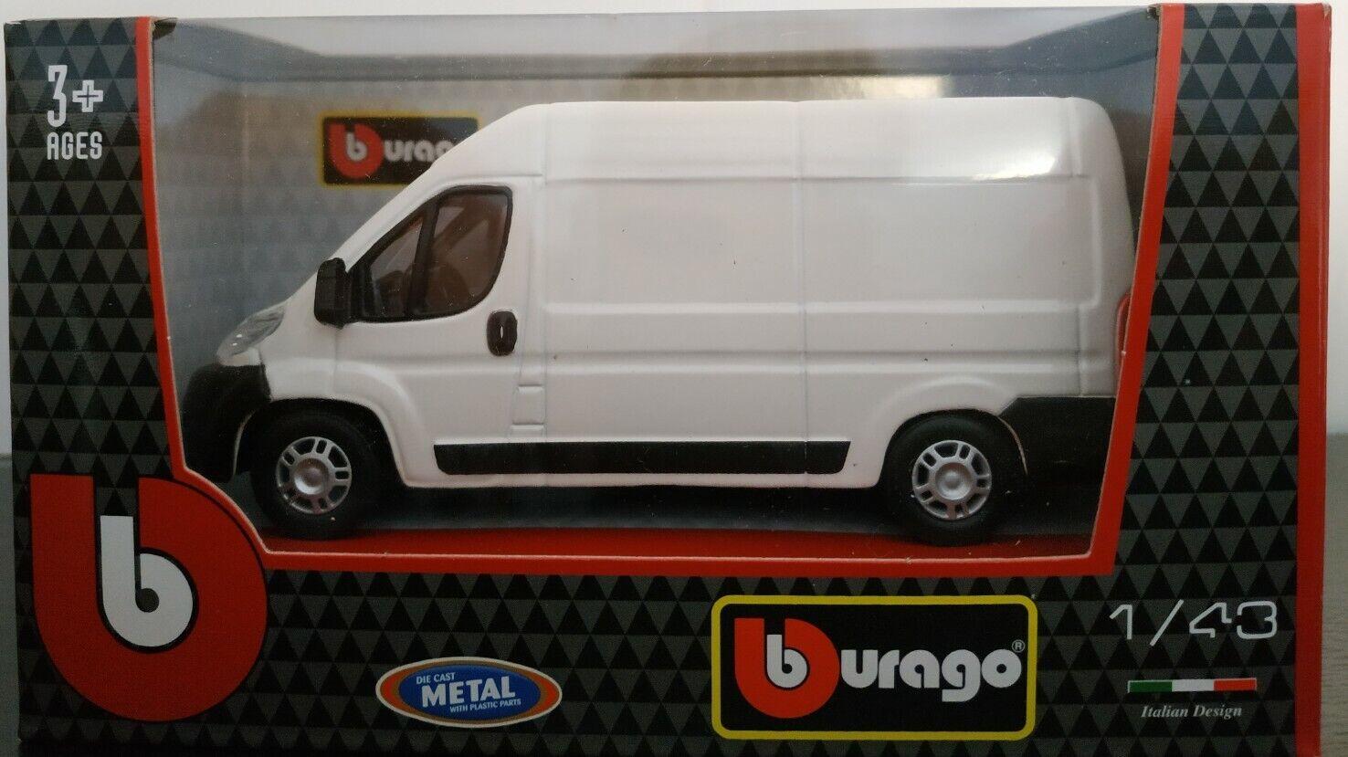 1 43 fiat ducato van 2006 fuegoneta voiture metal scale  collection die cast  meilleure qualité meilleur prix