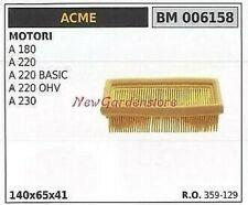 Filtro de aire filtro para Acme a 220 a 180