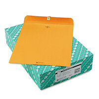 Quality Park Clasp Envelope 11 1/2 X 14 1/2 32lb Brown Kraft 100/box 37805 on sale