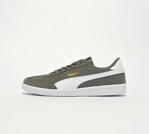 super popular 110ac 39b95 Details about Mens Puma Astro Cup Suede Castor Grey/White Trainers RRP  £54.99