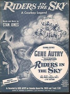 Riders-in-the-Sky-1949-Gene-Autry-Sheet-Music