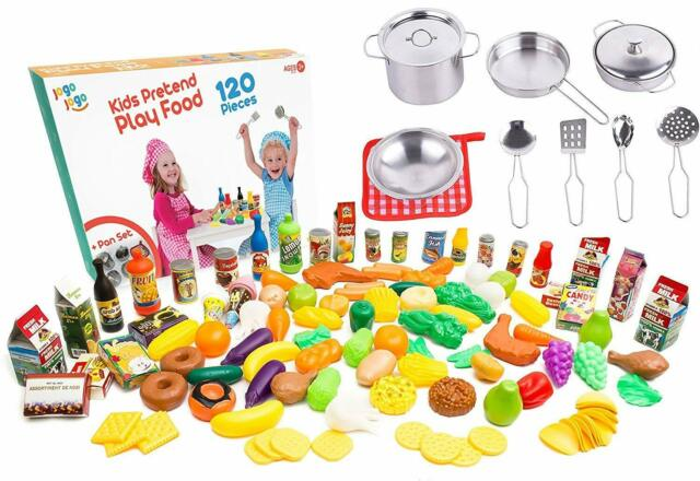 Kids Kitchen Accessories >> Kids Play Kitchen Accessories Sets Kids Pots And Pans Set With Plastic Food By J