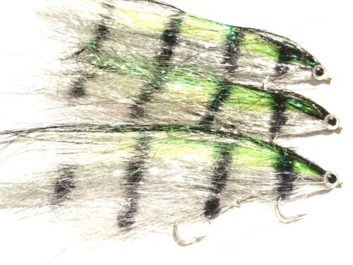 3 Tandem  RUTLAND GRAFHAM BIG BROWN SILVER PERCH Fry  by Iain Barr Fly Fishing