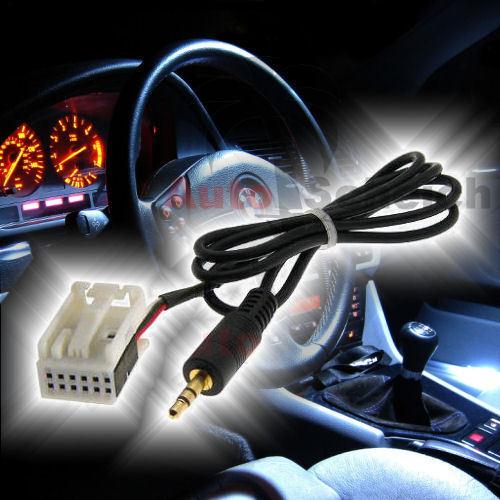 AUX IN Adapter Kabel für BMW Z4 E85 X3 E83 Radio CD MP3 Wechsler iPhone Handy