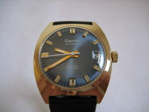 NOS-NEW-VINTAGE-SWISS-WATER-RESIST-AUTOMATIC-DATE-MEN-039-S-ANALOG-GIGANDET-WATCH