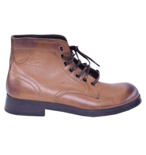 DOLCE /& GABBANA Siracusa Boots Shoes Brown 03830