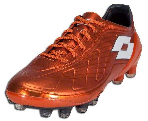 Lotto Futura 100 Firm Ground Soccer Cleats - Dark Dark Dark Mandarin Orange - N4502 242fbd
